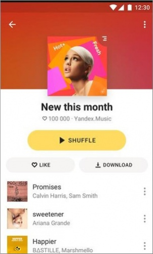 Yandex Music — listen and download Free Download