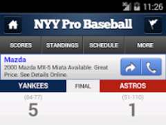 Yanks Pride by StatSheet 1.0.3 Screenshot
