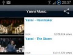 Yanni Music Videos 2.4 Screenshot