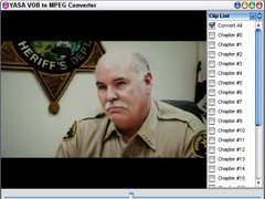 YASA VOB to MPEG Converter 3.2.36c Screenshot