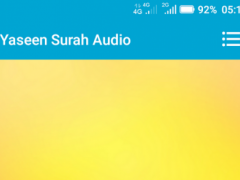 Yaseen Surah Audio 1.0 Screenshot