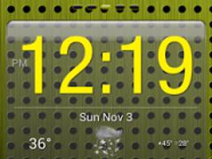 Yellow Gloss Theme 2.04 Screenshot