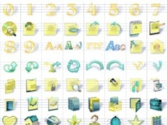Yellow Icon Collection 1.0 Screenshot