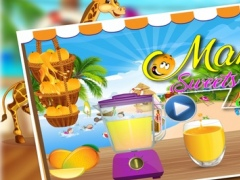 Yellow Mango Sweet Shop - Make Mangoes Ice cream,ice pops, milkshake and frozen slush 1.0 Screenshot