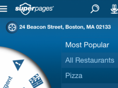 Superpages Local Search  Screenshot