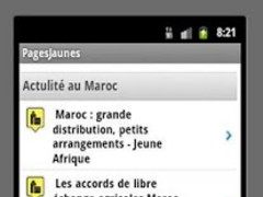 Yellow Pages Morocco 1.0 Screenshot