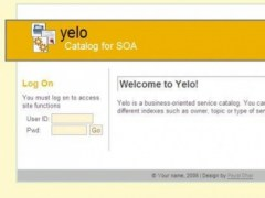 Yelo - Yellow pages for SOA 0.1 Screenshot