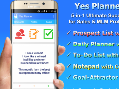 Yes Planner for Sales and MLM Success (Lite) 2.0.2 Screenshot