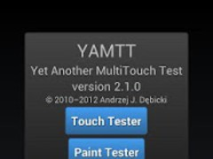 Yet Another MultiTouch Test 2.5.2 Screenshot