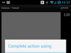 yfrog plug-in for twicca 0.4.0 Screenshot