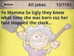 Ugly jokes so mums Yo Mama
