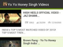 Yo Yo Honey Singh Videos 1.0 Screenshot