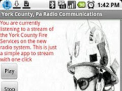 York County, Pa FD & PD Comm 2.1.3 Screenshot
