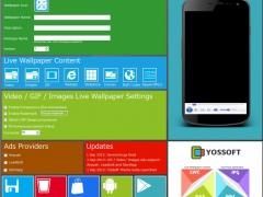 Yossoft Live Wallpaper Creator 366 Screenshot