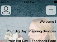 Your Big Day Wedding Planning App 1.0 Screenshot