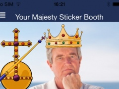Your Majesty Sticker Booth PRO 1.0 Screenshot