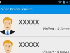 Your Profile Visitors. 4.6 Screenshot