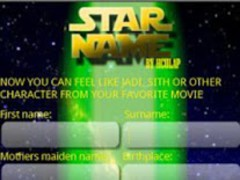 YOUR STAR WARS NAME 1.3 Screenshot