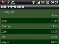 Youssef Prayer Times 1.1.0 Screenshot