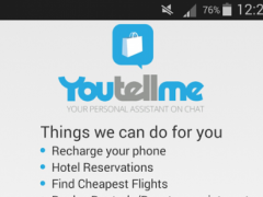 YouTellMe - Personal Assistant 1.0 Screenshot