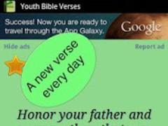 Youth Bible Verses & widget 8.02 Screenshot