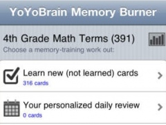 YoYoBrain 4th Grade Math Vocabulary 1.0.0 Screenshot