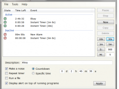 yTimer2 2.0.0.4 Screenshot
