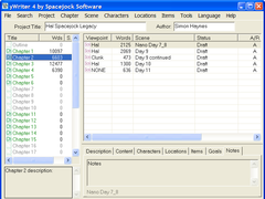 yWriter4 4.0.90 Screenshot