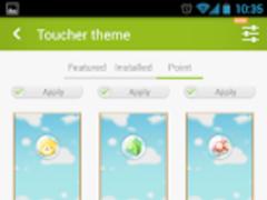 Z-Lovelife Toucher Point Theme 1.1 Screenshot