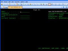 z/Scope TN5250 6.5.0.7 Screenshot