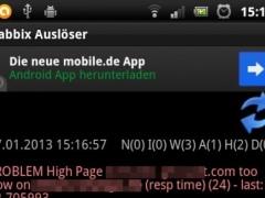 Zabbr (Zabbix Widget) 1.7 Screenshot