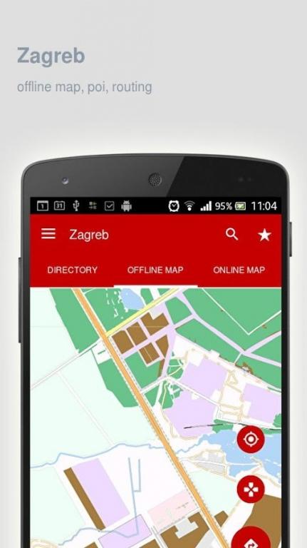 Zagreb Map Offline 1 19 Free Download