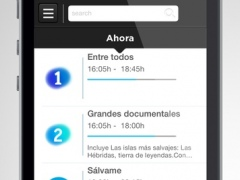 Zapp TV - The guide of what's in the direct television in Spain. 1.2 Screenshot