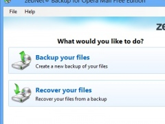 zebNet Backup for Opera Mail Free Free Download