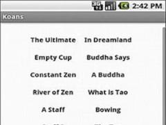 Zen Koans 1.0 Screenshot
