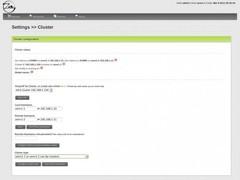 Zen Load Balancer  Screenshot