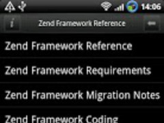 Zend Framework Reference Pro 1.1 Screenshot
