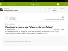 Zendesk for iPad 3.9.7 Screenshot