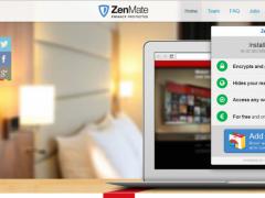 ZenMate VPN for Firefox 6.1.3 Screenshot