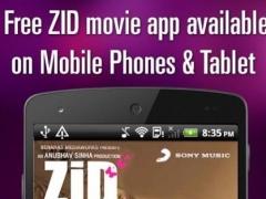 Zid Movie Songs 1.0.0.4 Screenshot