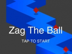 Zig Zag Man On The Crazy Road - Jump On The Boom Line 1.0 Screenshot