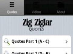 Zig Ziglar Quotes 1.0 Screenshot