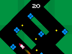 Zigzag Rocket- Tiny Missile 1.03 Screenshot