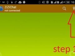 ZiziChat (Chat bluetooth) 1.0 Screenshot