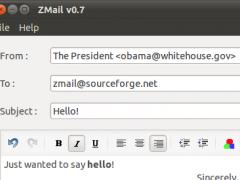 ZMail 0.7 Screenshot