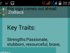 Zodiacs 2.0.1 Screenshot