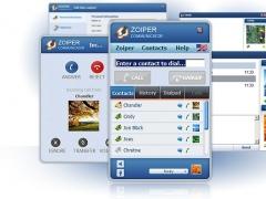 Zoiper Webphone 1.10 Screenshot