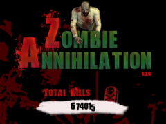 Zombie Annihilation  Screenshot