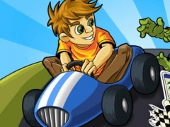 Zombie Go Kart Road Chase Race Free - Easy Kids Arcade Car Racing by Top Crazy Games 1.0.6 Screenshot