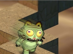 Zombie Tiger Jumpy Run 3D - undead animal racing 1.0 Screenshot